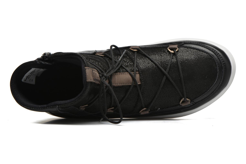 Sportschuhe Moon Boot Vega Lux schwarz ansicht von links