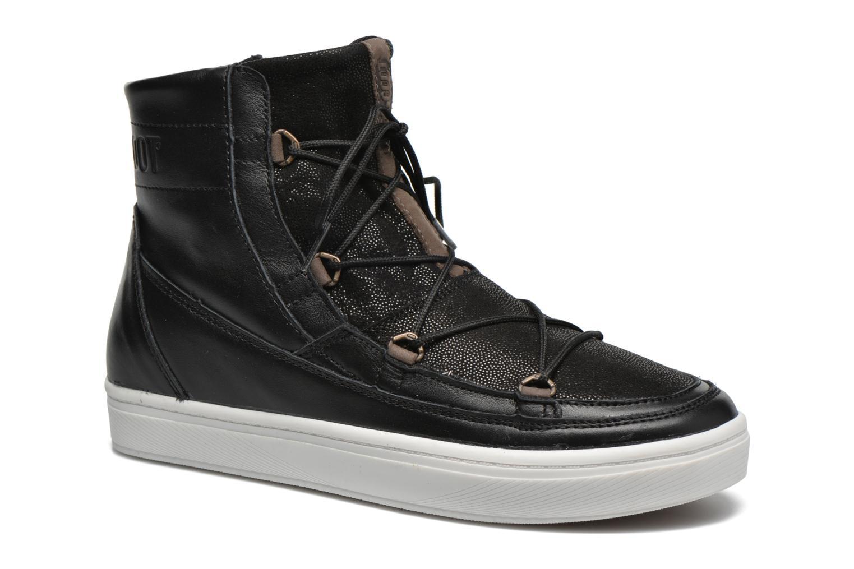 Chaussures de sport Moon Boot Vega Lux Noir vue détail/paire