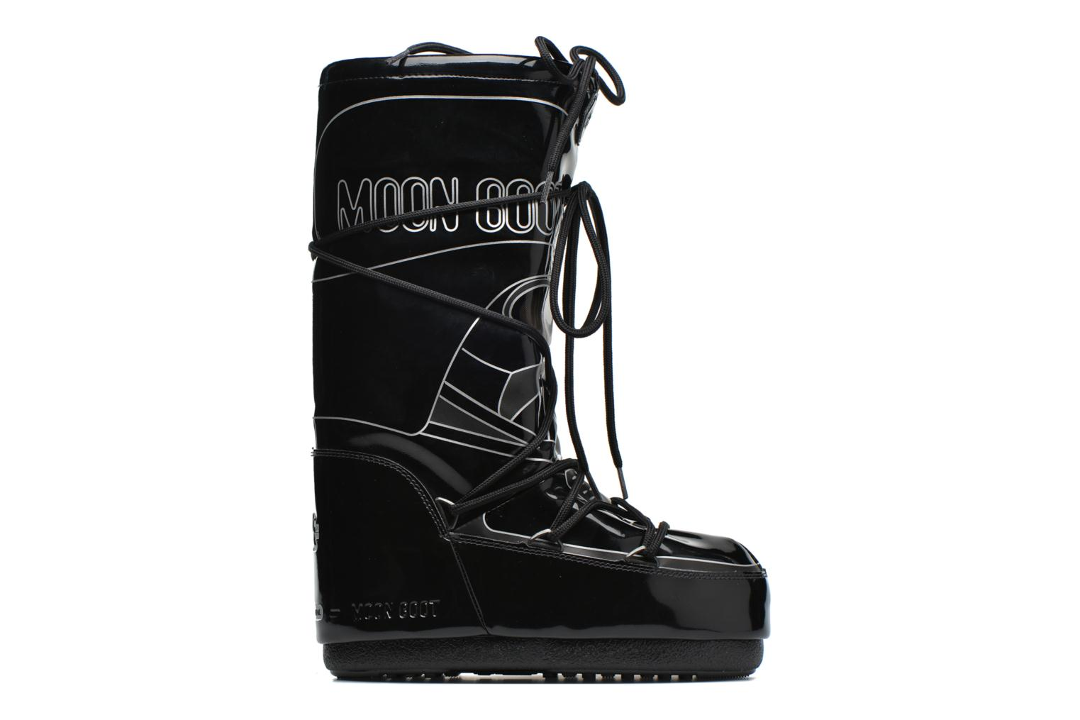 Boots & wellies Moon Boot Moon Boot Star wars Darth Vader Black back view