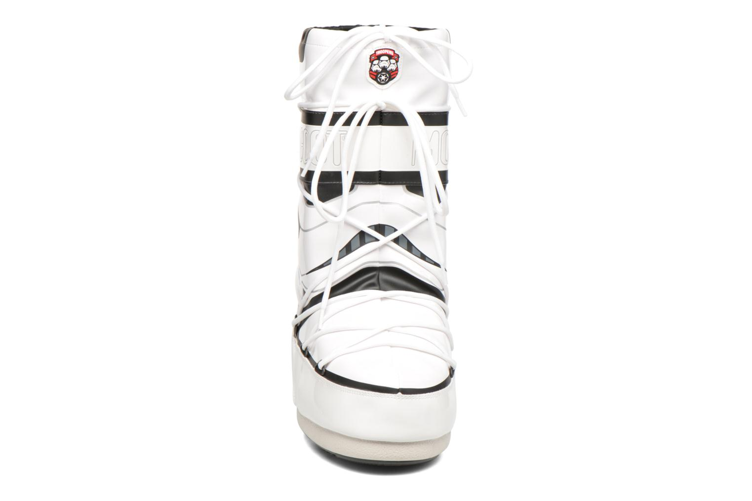 Bottes Moon Boot Moon Boot Star wars Stormtrooper Blanc vue portées chaussures