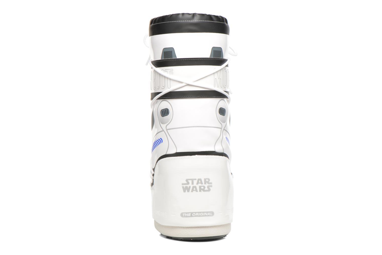 Bottes Moon Boot Moon Boot Star wars Stormtrooper Blanc vue droite