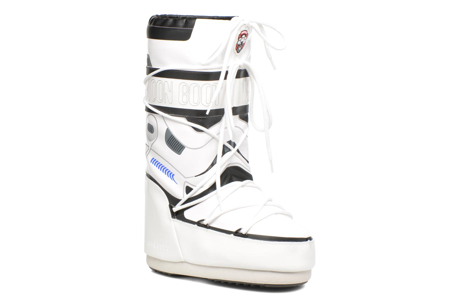 Bottes Moon Boot Moon Boot Star wars Stormtrooper Blanc vue détail/paire