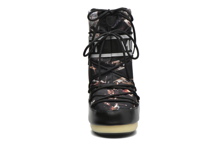 Bottes Moon Boot Moon Boot Star wars Jr Fleet Noir vue portées chaussures