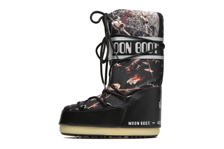 Stiefel Moon Boot Moon Boot Star wars Jr Fleet schwarz ansicht von vorne