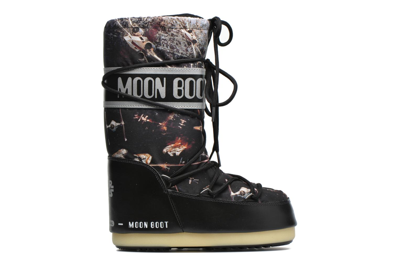 Stiefel Moon Boot Moon Boot Star wars Jr Fleet schwarz ansicht von hinten