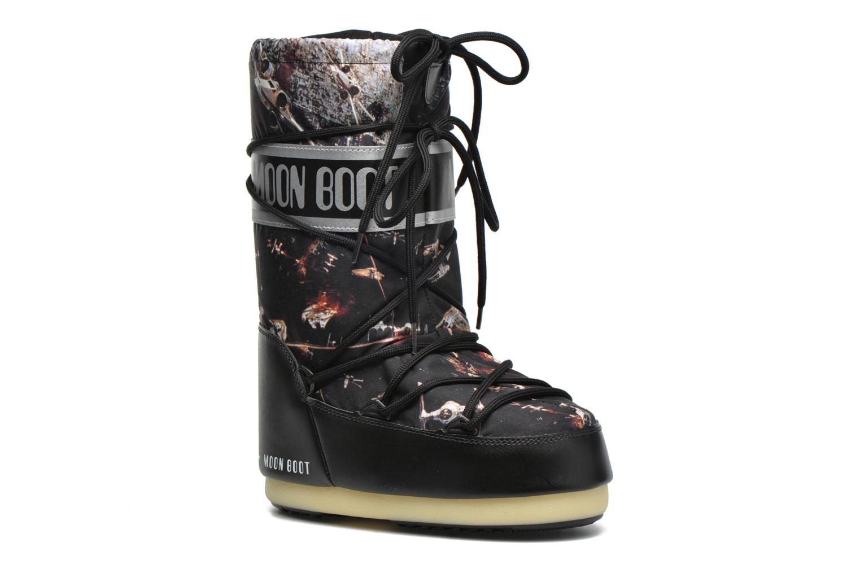 Botas Moon Boot Moon Boot Star wars Jr Fleet Negro vista de detalle / par