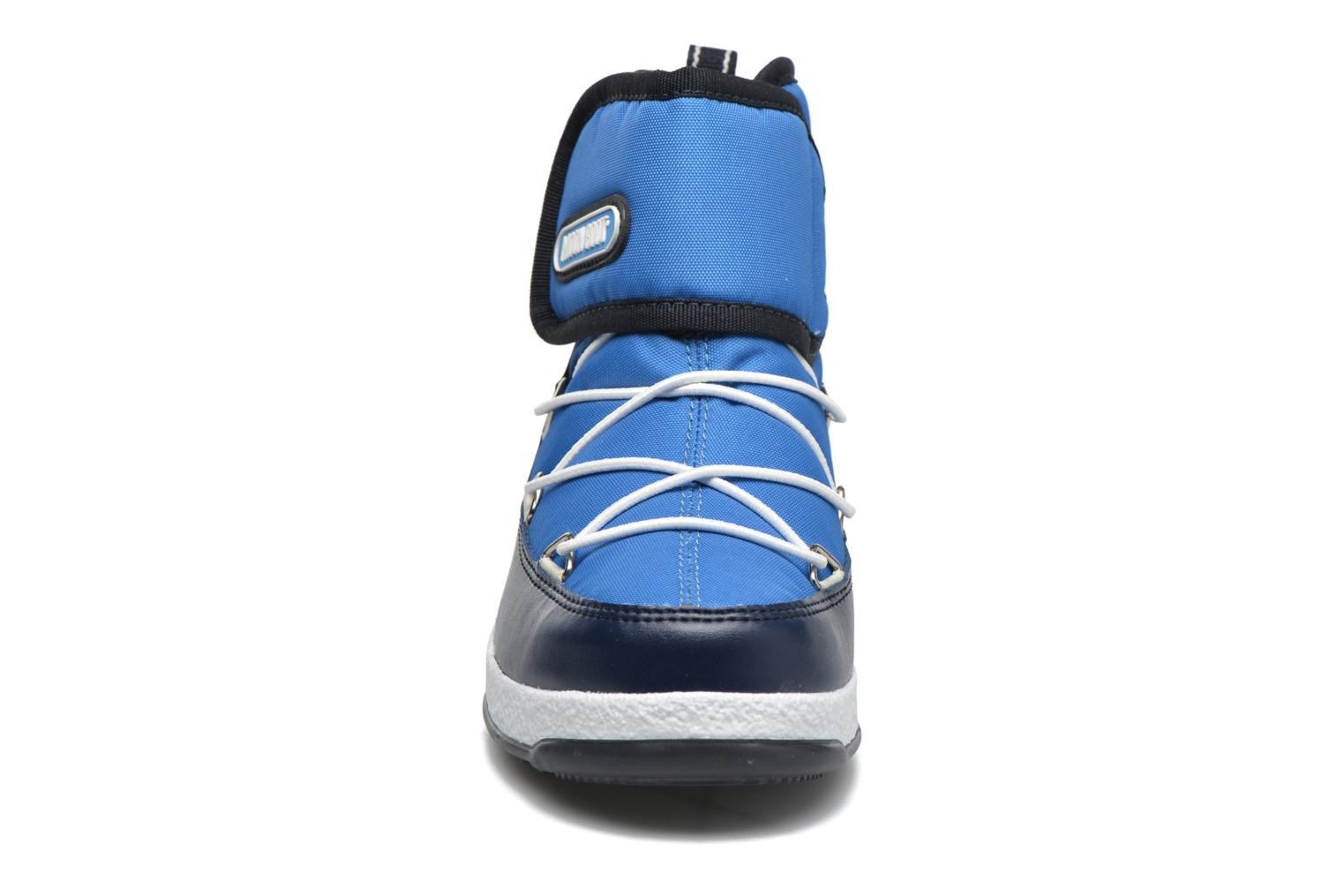 Moon Boot WE Strap Jr Azure/Blue Navy