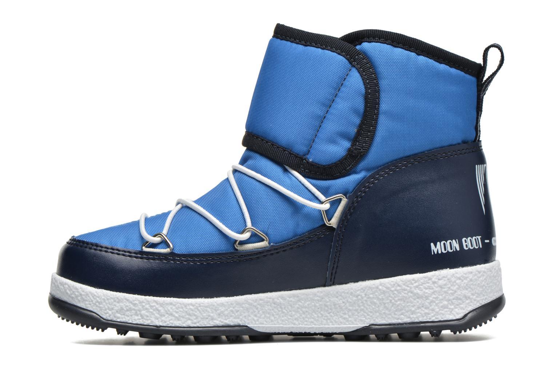Moon Boot WE Strap Jr Azure/Blue Navy