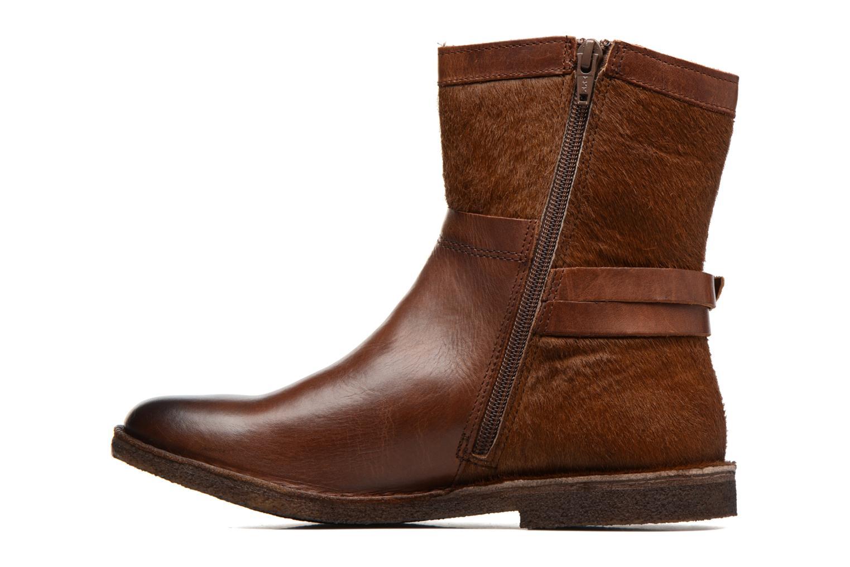 Boots en enkellaarsjes Kickers Cricket Bruin voorkant