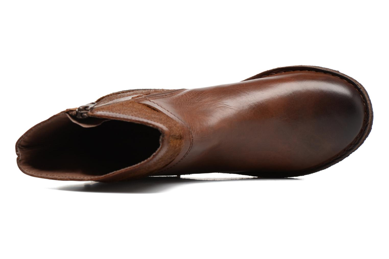 Boots en enkellaarsjes Kickers Cricket Bruin links