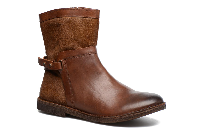 Boots en enkellaarsjes Kickers Cricket Bruin detail