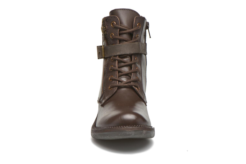 Bottines et boots Kickers Motowell Marron vue portées chaussures