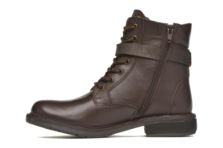Bottines et boots Kickers Motowell Marron vue face