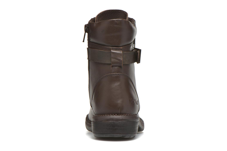 Bottines et boots Kickers Motowell Marron vue droite