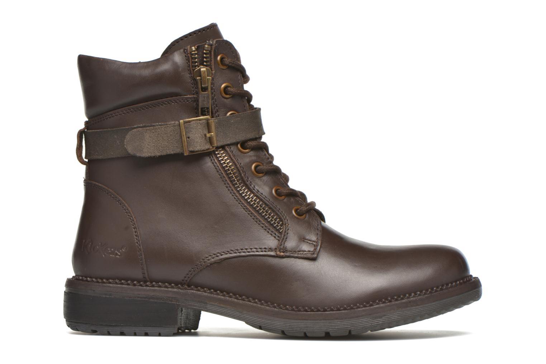 Bottines et boots Kickers Motowell Marron vue derrière