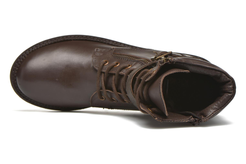 Bottines et boots Kickers Motowell Marron vue gauche