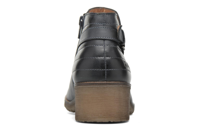 Bottines et boots Kickers Millcut Bleu vue droite