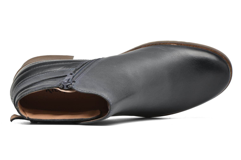 Bottines et boots Kickers Millcut Bleu vue gauche