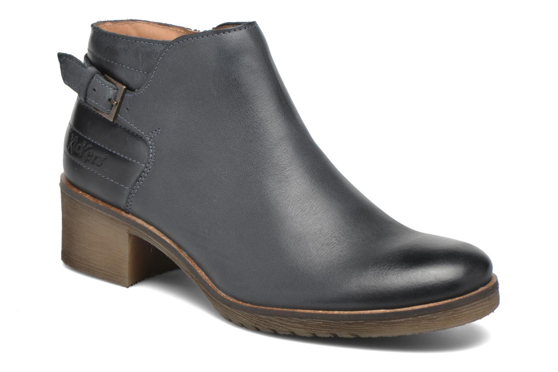 Bottines et boots Kickers Millcut Bleu vue détail/paire