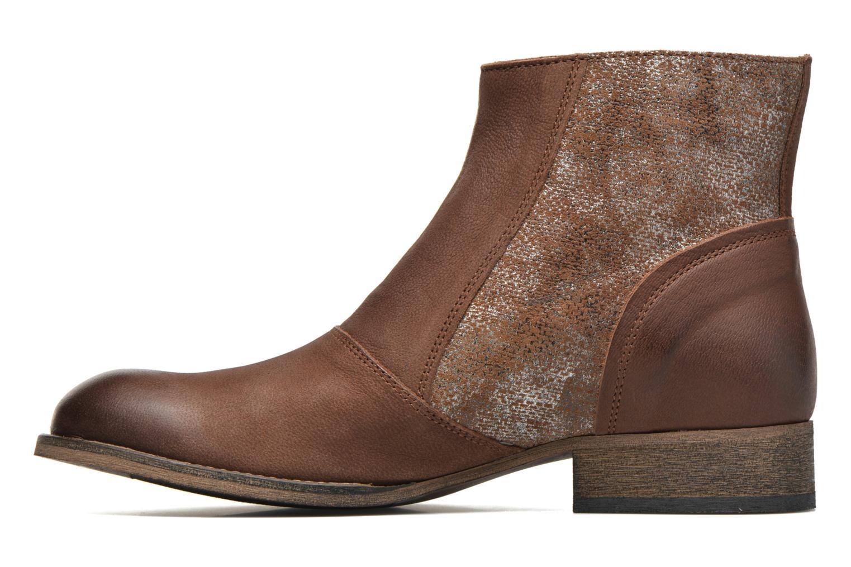 Bottines et boots Kickers Penny Marron vue face