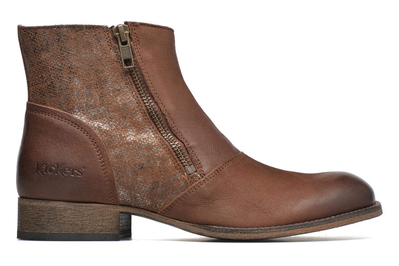 Bottines et boots Kickers Penny Marron vue derrière
