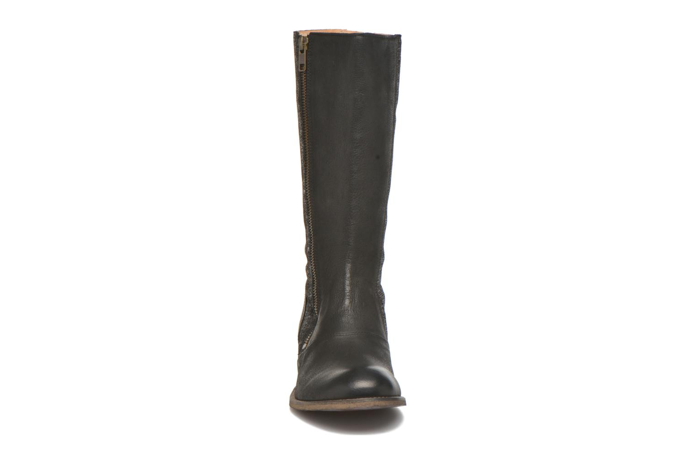 Stiefel Kickers Pennyho schwarz schuhe getragen