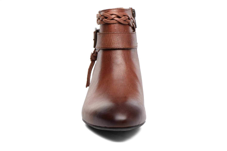 Bottines et boots Kickers Westboots Marron vue portées chaussures