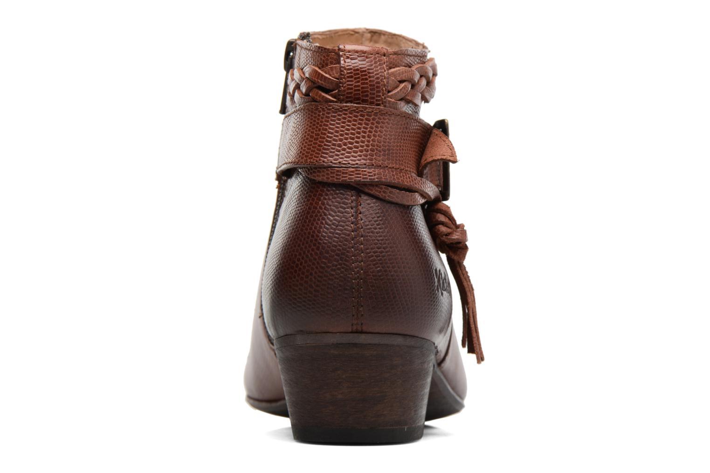 Bottines et boots Kickers Westboots Marron vue droite