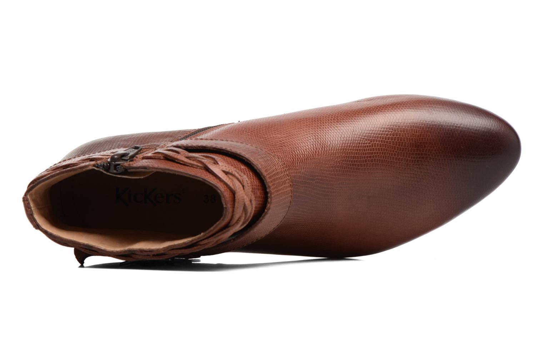 Bottines et boots Kickers Westboots Marron vue gauche