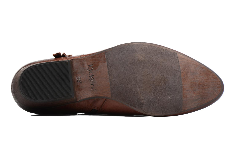 Bottines et boots Kickers Westboots Marron vue haut