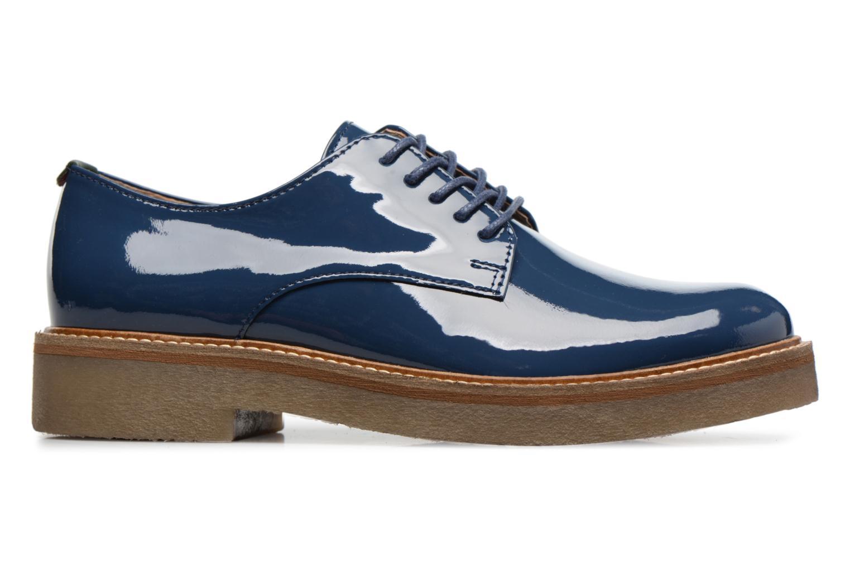 Chaussures à lacets Kickers Oxfork Bleu vue derrière