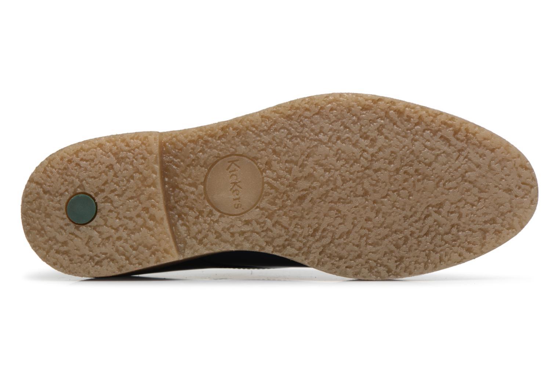Chaussures à lacets Kickers Oxfork Bleu vue haut
