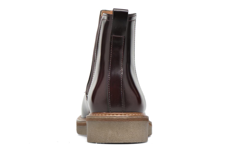 Bottines et boots Kickers Oxfordchic Bordeaux vue droite
