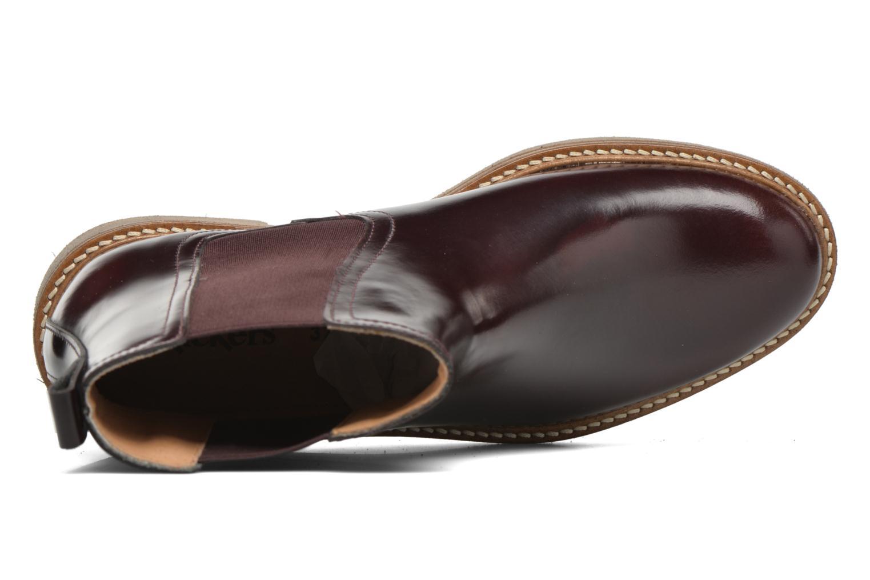 Bottines et boots Kickers Oxfordchic Bordeaux vue gauche