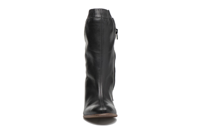 Bottines et boots Kickers Dailystic Noir vue portées chaussures