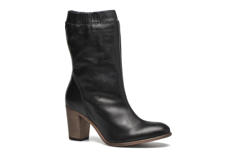 Ankelstøvler Kickers Dailystic Sort detaljeret billede af skoene