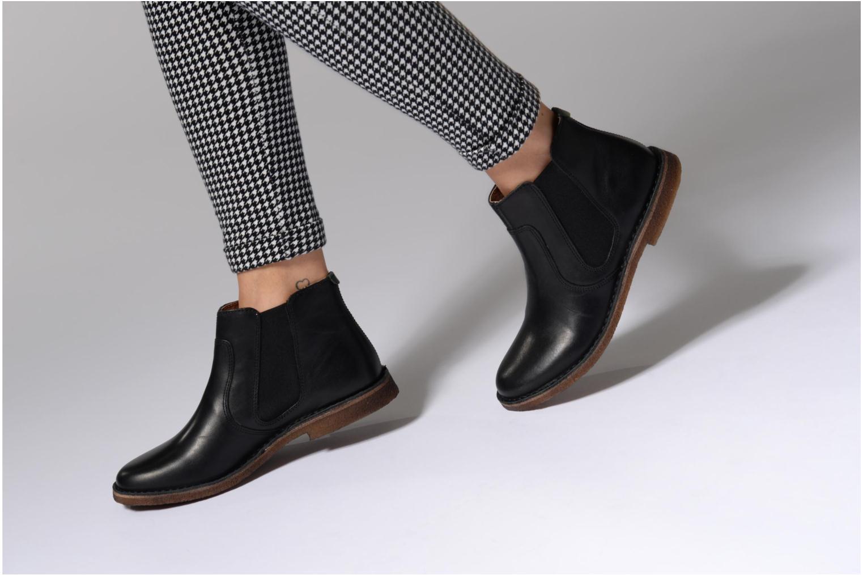 Bottines et boots Kickers Seeboots Marron vue bas / vue portée sac