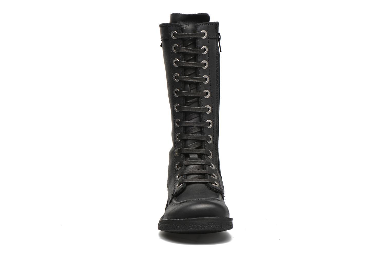 Bottines et boots Kickers Meetkiknew Noir vue portées chaussures