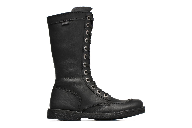 Bottines et boots Kickers Meetkiknew Noir vue derrière