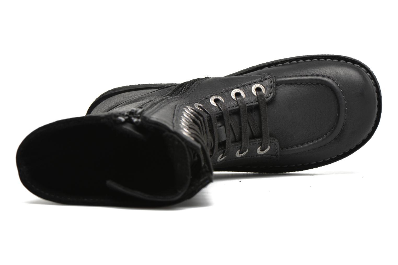 Bottines et boots Kickers Meetkiknew Noir vue gauche