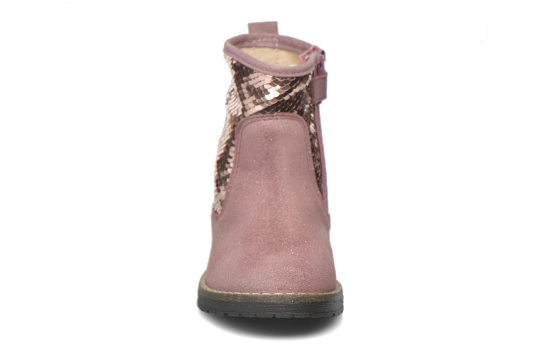 Botines  Acebo's Botina Rosa vista del modelo