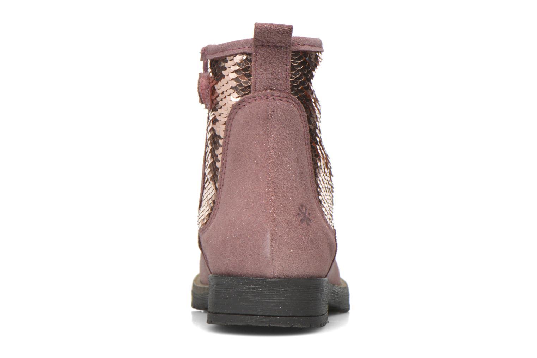 Stiefeletten & Boots Acebo's Botina rosa ansicht von rechts