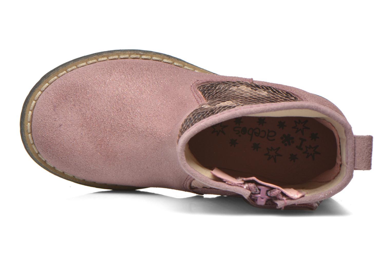 Stiefeletten & Boots Acebo's Botina rosa ansicht von links