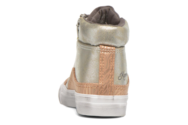 Baskets Kaporal Amelony Gris vue droite