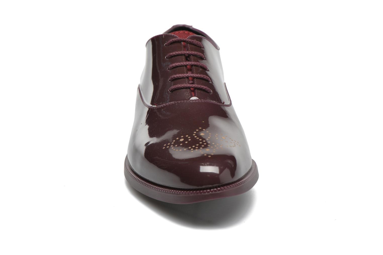 Lace-up shoes Lemon Jelly Jeny Burgundy model view