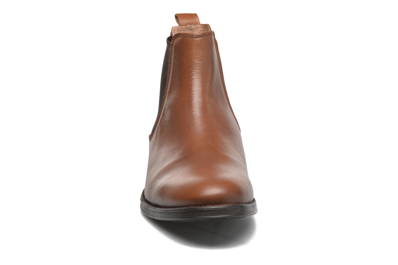 Bottines et boots Selected Homme Oliver Marron vue portées chaussures