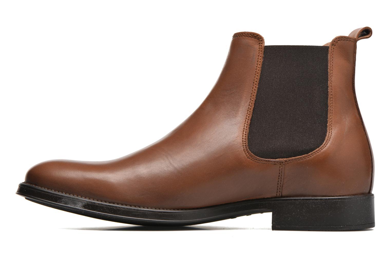 Bottines et boots Selected Homme Oliver Marron vue face