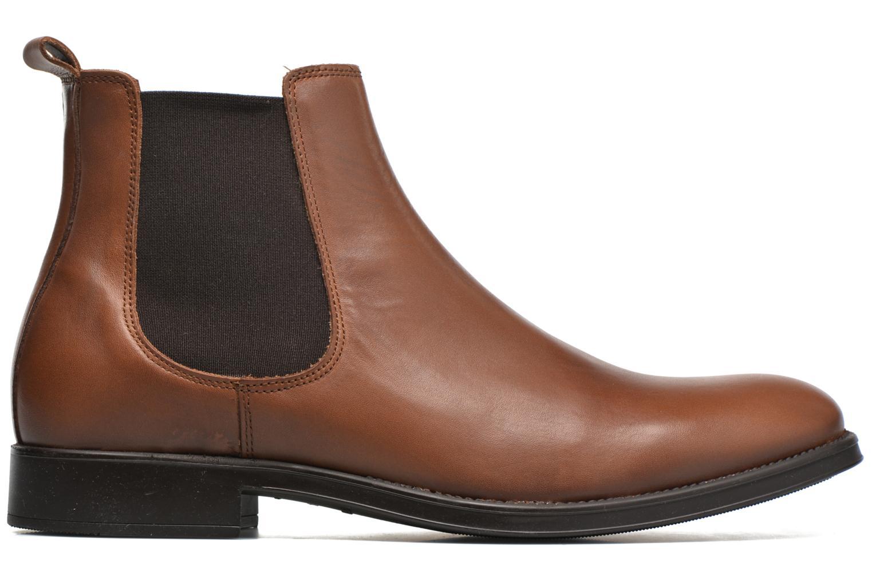 Bottines et boots Selected Homme Oliver Marron vue derrière