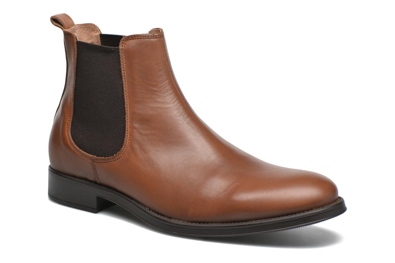 Bottines et boots Selected Homme Oliver Marron vue détail/paire