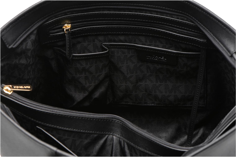Sacs à main Michael Michael Kors JET SET Travel MD TZ Multifonction Tote Noir vue derrière
